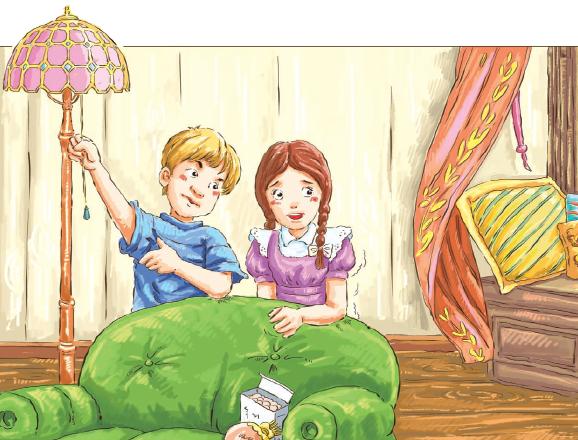 儿童彩笔画教程展示